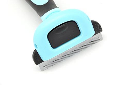 Tamia Living DELE Unterfellbürste Q-005 Fellpflege für Hunde und Katzen lose Haare effizient entfernen 13.5 x 5 x 5 cm