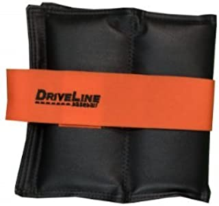 Driveline Leather Wrist Weight Set - Durable Weights for Baseball Training
