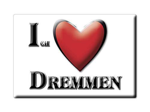 Enjoymagnets DREMMEN (NW) Souvenir Deutschland Nordrhein Westfalen Fridge Magnet KÜHLSCHRANK Magnet ICH Liebe I Love