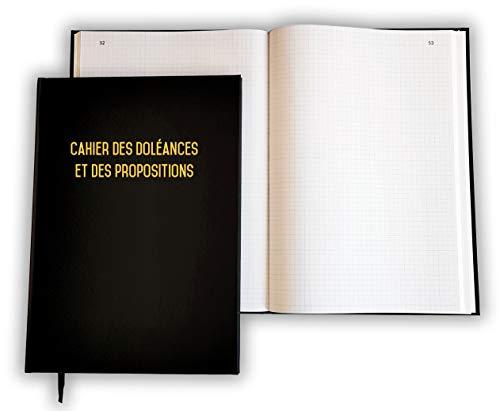 UTTSCHEID Copy of Livre d'Or Format A4 paysage - 100 Pages - Couverture Noire Mate - Lettres d'orées - Qualité Premium