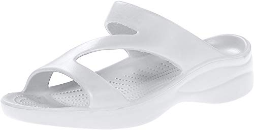DAWGS Ladies Z Sandal,White,7 M US