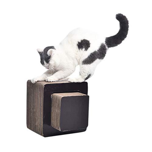 Amazon Basics - Tiragraffi chaise longue per gatti, quadrato, piccolo