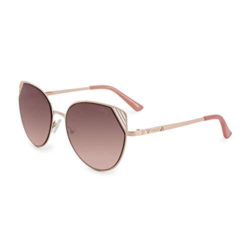 Guess GF6056-5528T - Gafas de Sol para Mujer, Rosado, 55