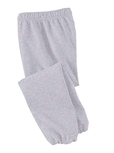 Joe's USA - Youth Soft and Cozy Sweatpants Ash. Size Youth L(14-16)