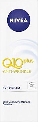 NIVEA Q10 Plus Anti-Wrinkle Eye Cream 15ml by Beiersdorf Uk Ltd