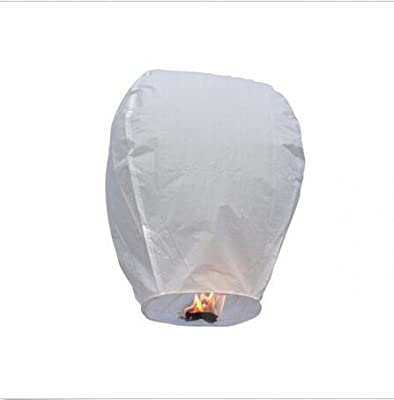 100/% biodegradable Kylewo Chinese Sky Lantern: Floating Lucky Lantern wireless fireproof paper lantern to be carried to the sky
