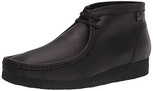 Clarks Shacre Boot, Stivaletto Uomo, Pelle Nera, 39 EU