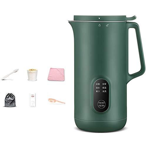 Mixer, 400W Mixer, 30000 U/Min, Vertikale Mixermaschine, BPA-frei [A-Level Energy +++] (Color : 726P Noise Reduction (Green))