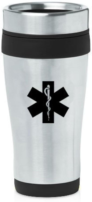 Noir 453,6gram Mug de voyage isotherme en acier inoxydable Z746étoile de la vie EMT en MIP
