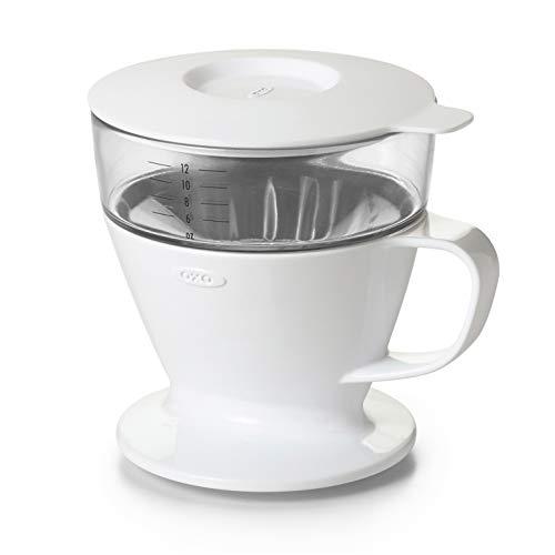 OXO コーヒードリッパー オートドリップ コーヒーメーカー 1~2杯 360ml ホワイト