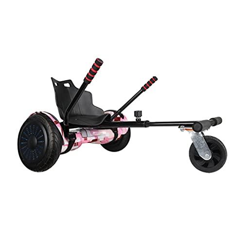 Accessori per Il Fissaggio del Sedile dell'hoverboard Go Kart per Scooter elettrici autobilanciati Si Adattano alle Dimensioni dell'hoverboard 6.5', 8' e 10'