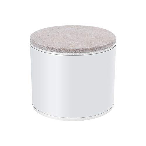 YOFASEN Extensores De Patas De Silla De Elevadores De Mesa De Acero Al Carbono, Elevador De Muebles De Tablero De Cama De Alta Capacidad De Carga Antioxidante,Blanco/60X102Mm