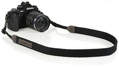 Kaiser Correa para cámara Digital de Fibra sintética 110cm Color Negro