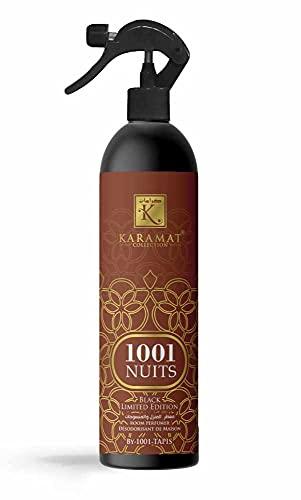 Karamat - Difusor de ambiente vaporizador, 1001 noches Collection – Ambientador – Purificador de aire con aroma energizante – Elimina los malos olores