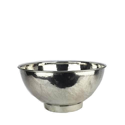 Marokkanisches Waschbecken aus Metall, handgehämmert, 32 cm