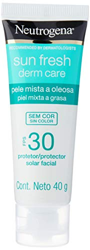 Neutrogena Sun Fresh Oily Skin sem Cor Fps 30, Neutrogena