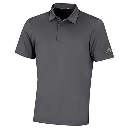 adidas Golf Herren Ultimate365 2,0 Crestable Polo-Hemd - Grau Five/Grau - XL