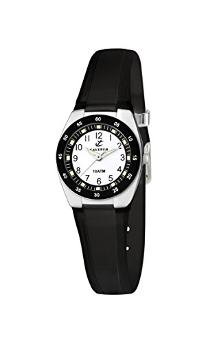 Calypso Reloj Analógico para Unisex de Cuarzo con Correa en Silicona K6043/F
