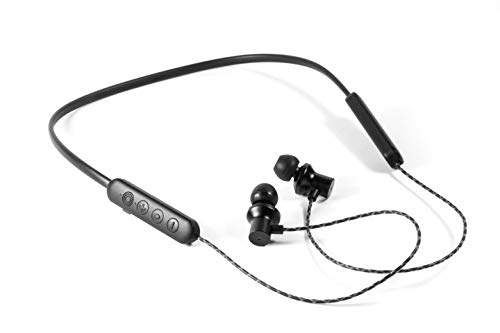 MusicMan ANC In-Ear Kopfhörer BT-X42 Active Noise Cancellation Geräuschunterdrückung & Freisprechfunktion Bluetooth Nackenbügel Headset in-Ear