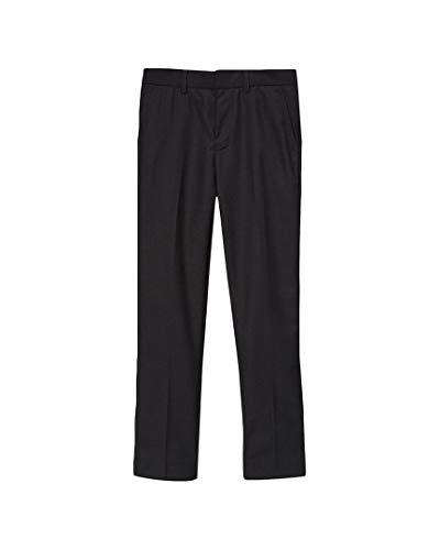 Elie Balleh Milano Italy Boys' Slim Fit Dress Pants Black 7