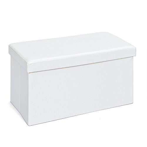 Inter Link Faltbox, Groß, Polyurethan, MDF, Weiß, 76 x 38 x 38 cm, 1 Einheiten