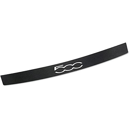 Auto Carbon Fiber Rear Bumpers Protector Guard Strips, for FIAT 500 Car...