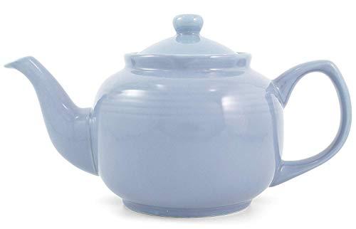 Powder Blue Classic 2 Cup Ceramic Teapot