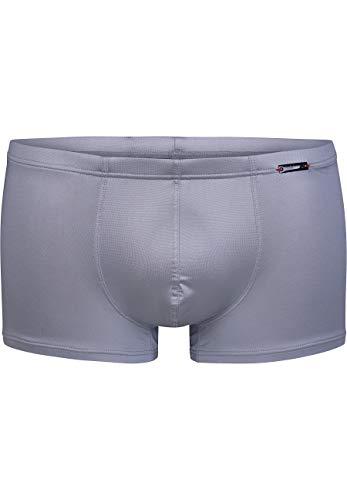 Olaf Benz - Retroshorts (Minipants) für Herren - Kurzer Beinabschluss - Silber - Grösse M (OB-1-07990-7200-M)