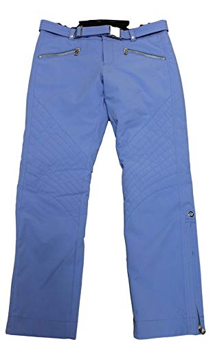 Bogner Franzi 2 Damen Ski Hose mit Gürtel Blau Silberfarben