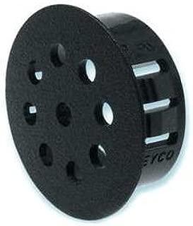 Heyco 2637 VP-500 BLACK VENT PLUG (package of 250)
