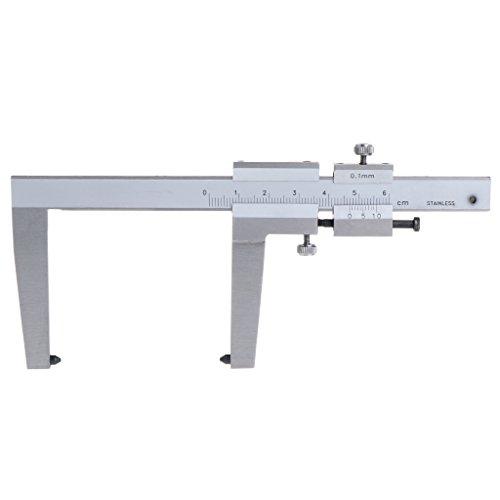 Edelstahl Messschieber für Bremsscheiben Messwerkzeuge 0-60 mm