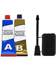 AB Metalen Reparatie Gel, Waterdichte Industriële Hittebestendigheid Koude Lassen Metaalpasta voor het Bonden en Repareren van Ijzer, Staal en ander Metaal (50 g)