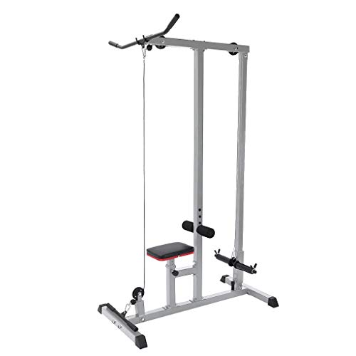commercial Indoor LAT pull-down low row rope trainer home sports lat pulldown and row machine