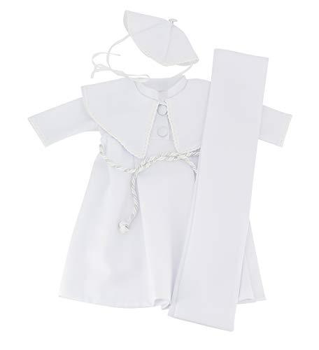 Boutique-Magique Body Blanc b/éb/é gar/çon avec col Manches Longues