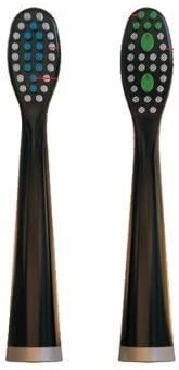 popular Replacement Heads new arrival for ELECTRIC Toothbrush by DR JIM ELLIS for SUPERIOR Dental Care wholesale (Black (2 pack)) outlet online sale