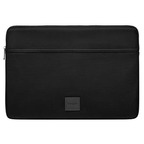 Targus Urban - Custodia protettiva per laptop da 13 a 14 , design sottile ed elegante, per studenti universitari e professionisti, colore: Nero (TBS934GL)