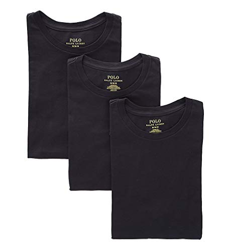 Polo Ralph Lauren Classic Fit w/Wicking 3-Pack Crews 3 Black/Rl2000 Red Pp 2XL