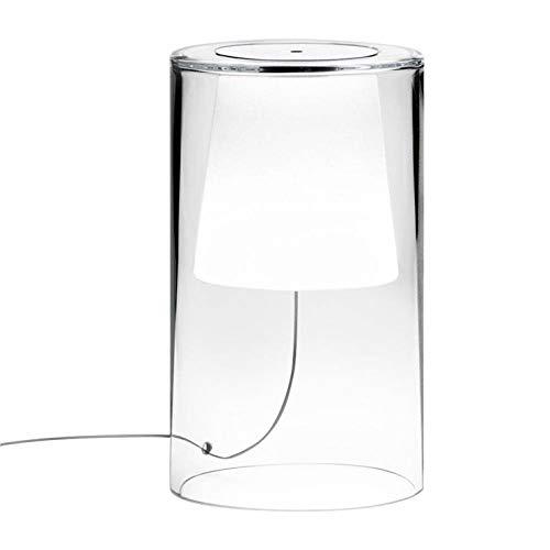 Join Tischleuchte, Glas, H34 cm, hell, Opalin Vibia – Design von Jordi Vilardell
