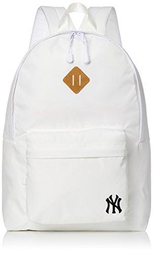 [メジャーリーグベースボール] リュック 600Dリュック ヤンキース ロゴ スポーツ カラバリ 通学 A4サイズ対応 YK-MBBK111 ホワイト One Size