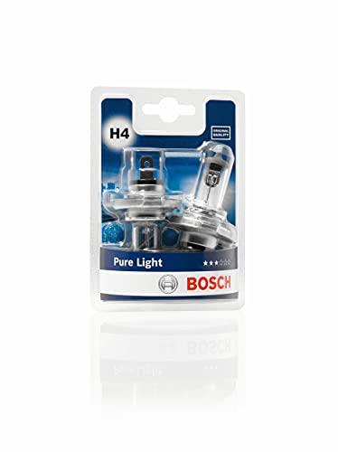 Bosch H4 Pure Light lampadine faro - 12 V 60/55 W P43t - lampadine x2
