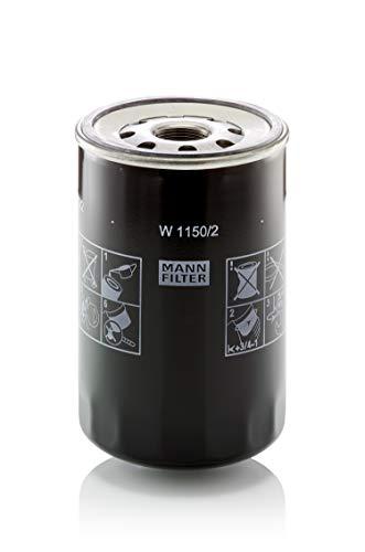 Original MANN-FILTER Ölfilter W 1150/2 – Hydraulikfilter – Für PKW und Nutzfahrzeuge