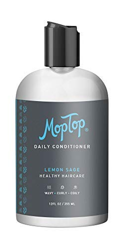 Price comparison product image 12oz MopTop Salon Daily Conditioner for Dry,  Thick,  Wavy,  Curly & Kinky-Coily,  Color Treated & Natural Hair,  made w / Aloe & Honey reduce Frizz,  increase Moisture,  Manageability for Smooth,  Silky Hair