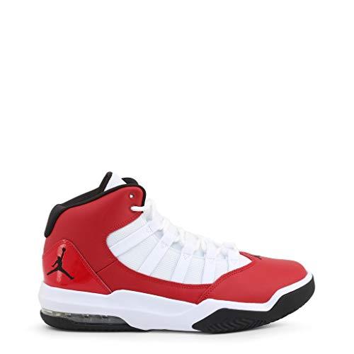 Nike Jordan MAX Aura, Zapatillas de básquetbol para Hombre, 602 Gym Red Black White, 40.5 EU