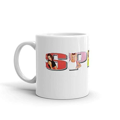 Lsjuee spice girls. Taza de regalo brillante de cerámica de 11 onzas para los amantes del café, regalos para hombres y mujeres. Tazas de café clásicas de 11 oz, C-han