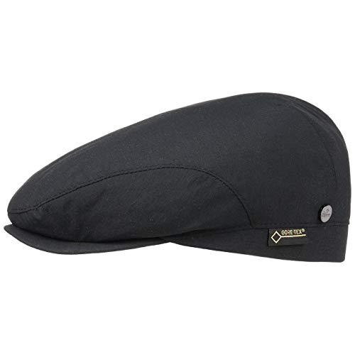 Lierys Gore-Tex Protect Flatcap Hombre - Flatcap Impermeable y Cortavientos - Gorra...