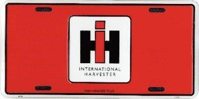 Dixie Seal & Stamp International Harvester License Plate Ih 6X12