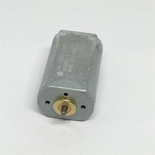 RUXMY Controlador de Motor Motor DC 1PCS Motor FK-180SH-10400 Motor DC pequeño de par Grande, para Coches de Juguete DIY Accesorios pequeños FK-180SH, 180 12-24VDC 11000RPM, Fácil de Instalar