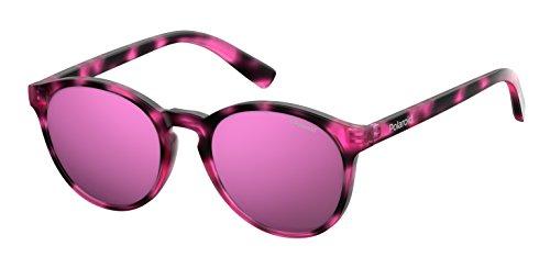 Polaroid PLD 8024/S AI C4B Gafas de sol, Rosa (Hvn Fuchsia/Grey Pink Grey Speckled Pz), 47 Unisex Niños