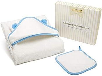 Precious Peanut Bamboo Hooded Baby Premium Toddler Bath Towels Set