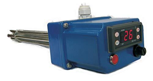 THERMIS TRG 31 Heizstab Heizpatrone mit digitalem Thermostat Heizelement für Wasserspeicher Boiler Warmwasserspeicher Wasserheizung Heizungsspeicher (2,4W//1x230V G6/4)